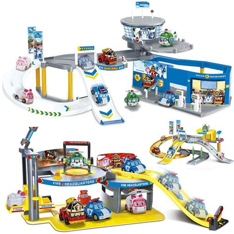 Mainan Anak Robocar Poli Parking Lot Station 665c high quality grosir mainan poli dari china mainan poli