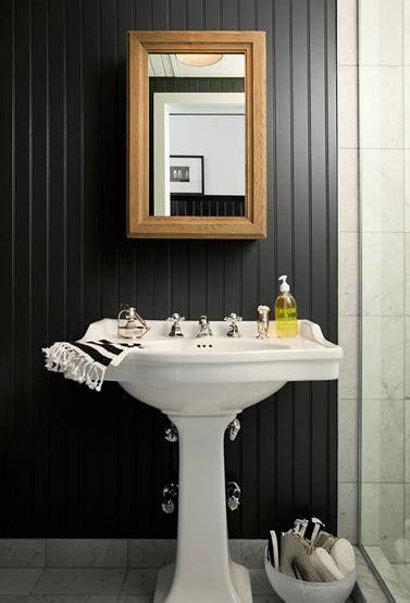 black beadboard backsplash design ideas