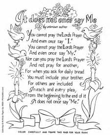 prayer coloring pages free coloring pages of lord s prayer