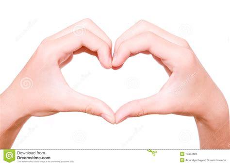imagenes de love con las manos cuore fatto dalle mani immagine stock immagine di giorno