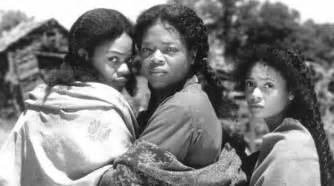 Kimberly elise oprah winfrey and thandie newton in beloved still