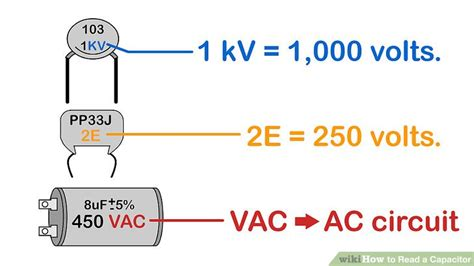 capacitor codigo 103 simple ways to read a capacitor wikihow