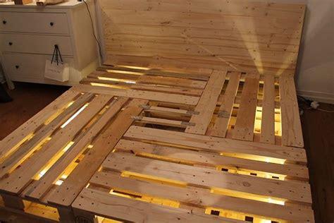 Bett 140x200 Kopfteil by Europalette Bett Paletten Ideen Sofas And