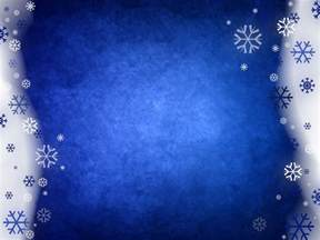 snowy blue abstract powerpoint templates blue christmas