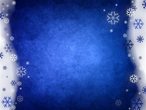 Snowy Blue Abstract Powerpoint Templates Blue Christmas White Free Ppt Backgrounds And Free Winter Powerpoint Backgrounds