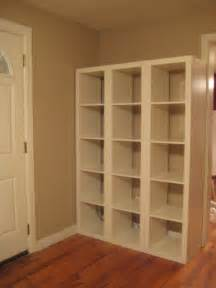 Office Bookcase With Doors Iron Amp Twine Ikea Expedit
