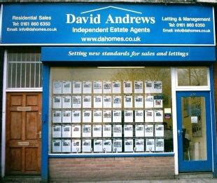 contact david andrews homes  estate  letting agents