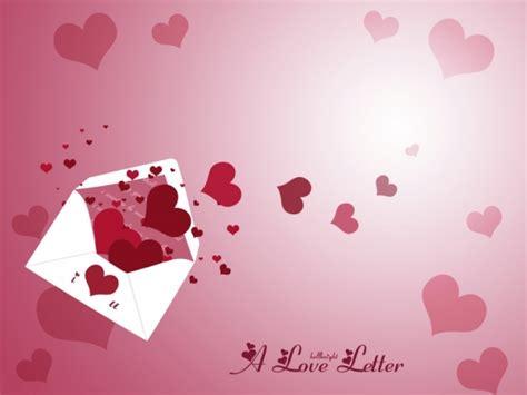 valentine love letter background powerpoint love