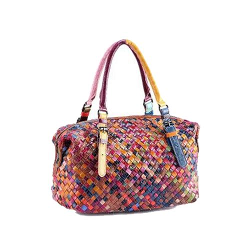 knitting totes 2016 new cowhide knitting bag genuine leather