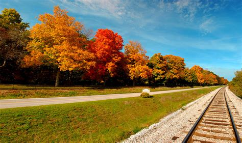 indiana colors indiana fall colors pano the view from across the road