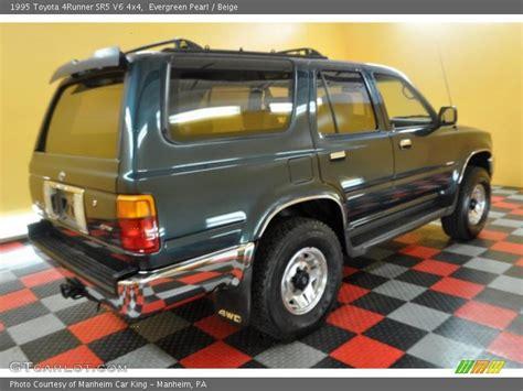 1995 Toyota 4runner Sr5 V6 1995 Toyota 4runner Sr5 V6 4x4 In Evergreen Pearl Photo No