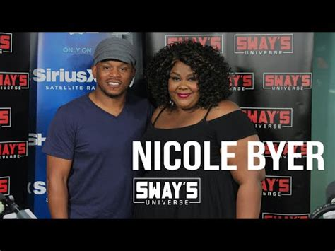 Nicoles Morning Radio Chat by Byer Sits With Sway In The Morning To Talk Post