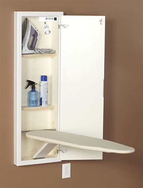 lowes built in ironing board cabinet built in ironing board cabinet home depot shocking barn