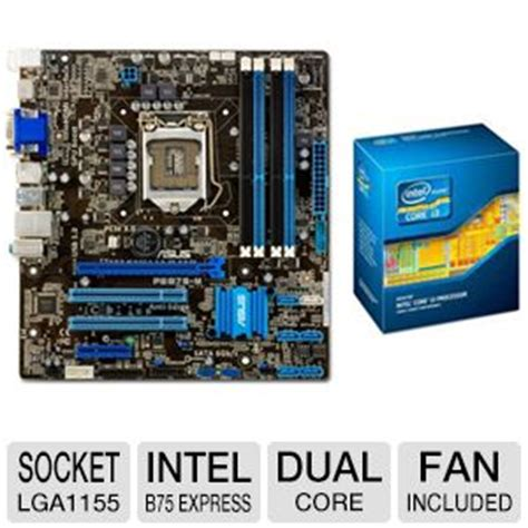 Motherboard Processor I3 540 inginn cer asus intel b75 motherboard and intel i3