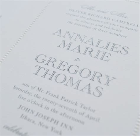 Thermography Wedding Invitations by More Printing Thermography For Wedding Invitations
