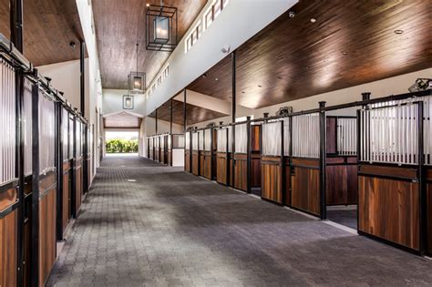 equestrian horse stables  barns contemporary