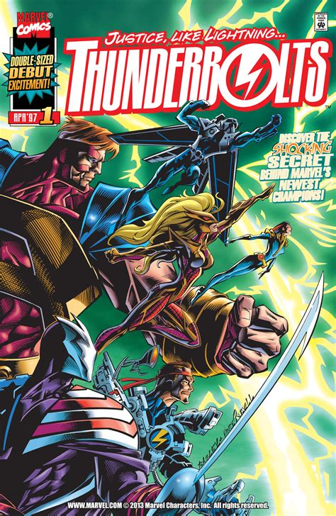 marvel classics comics vol 1 1 marvel database fandom powered by wikia thunderbolts vol 1 1 marvel database fandom powered by wikia