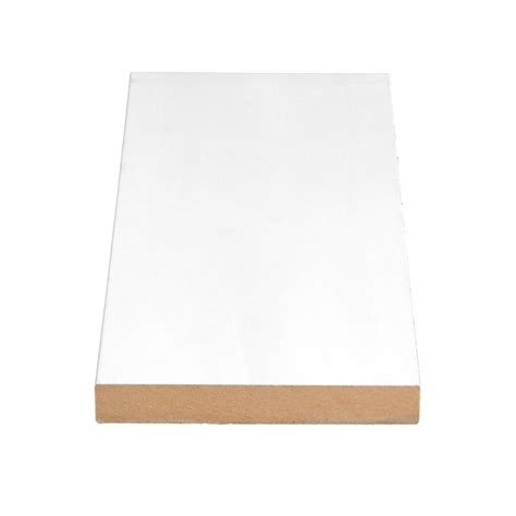 alexandria moulding primed fibreboard door jamb 5 8 in x