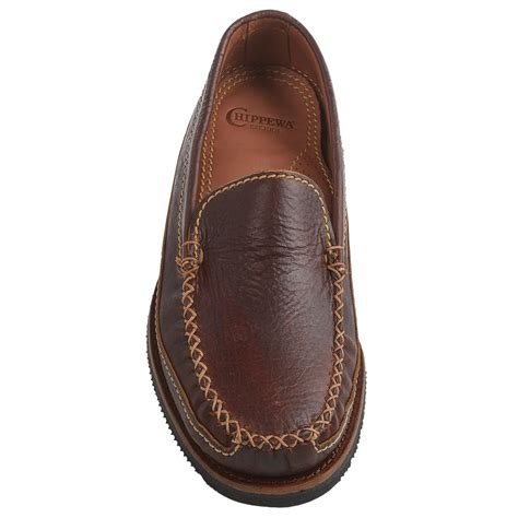 loafers slip ons chippewa american bison leather loafers for save 55