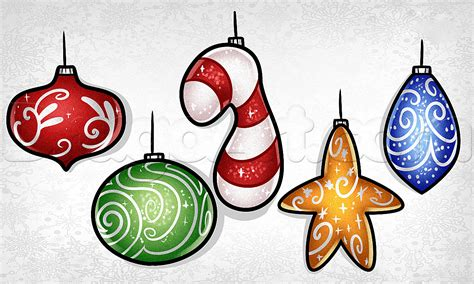 how to draw christmas balls how to draw bulbs step by step stuff seasonal free drawing