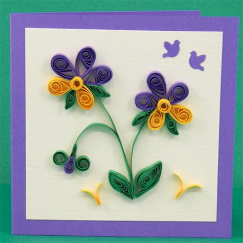 simple decorative crafts paper quilling card simple design pictures www