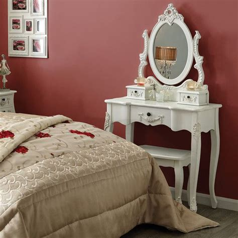 toulouse white bedroom furniture collection dressing