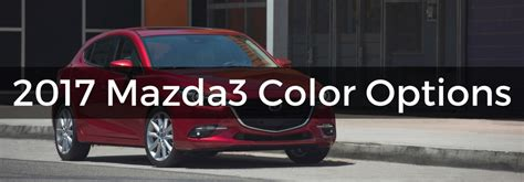 what is the color of 2017 2017 mazda mazda3 exterior color options
