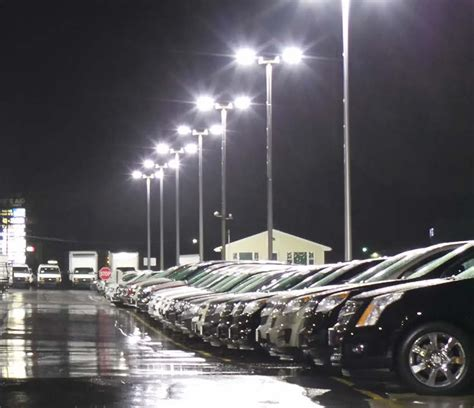 Parking Lot Led Lights by Replace 1000w Metal Halide Brightest Led Parking Lot