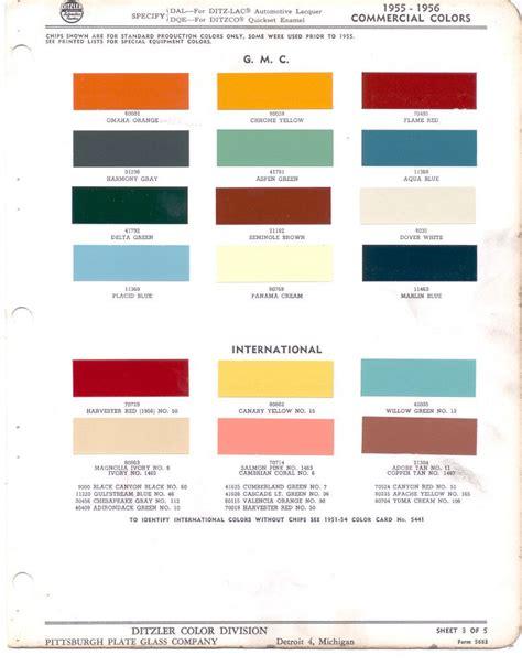 truck paint colors pin by meschelle sahli dolak on car paint chips 1957