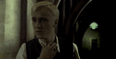 the ring bathroom scene draco malfoy gif find share on giphy
