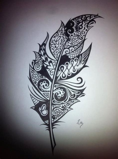 white feather tattoo designs most amazing black and white tattoos search