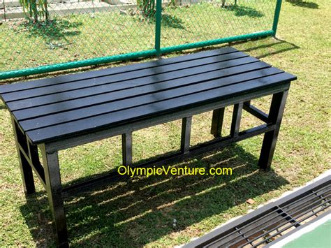 black wooden bench outdoor olympic venture 3 black wooden garden outdoor spectator