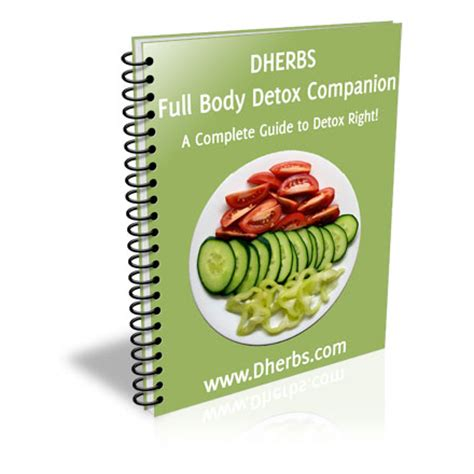 Dherbs Detox Pills by Cleanse Companion Ebook Cleanse