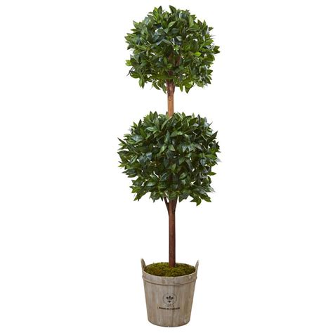 nearly natural indoor double ball topiary artificial tree