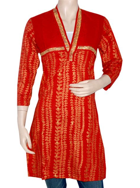 Best Website For Home Decor by Indian Kurtis Tops For Women Ethnic Handmade Embroidered