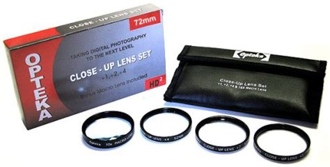 Phottix 1 2 4 10x Macro Lens Filters Up Lens 77mm opteka 72mm up set 1 2 and 4 with 10x macro lens tamron 180 macro