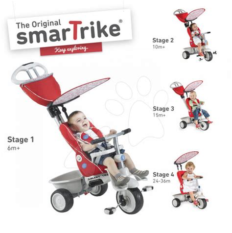 smart trike recliner stroller 4 in 1 pink pin smart trike recliner arriva il triciclo 4 in 1 on