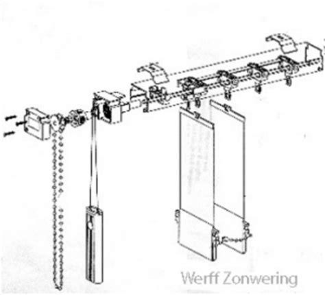 l ophangen onderdelen lamelgordijn onderdelen