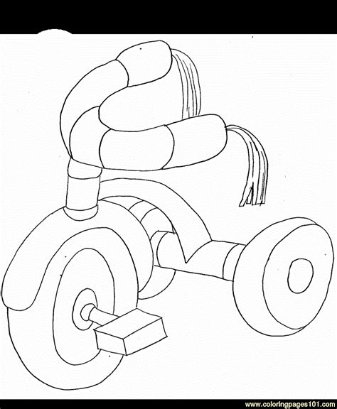 tricycle coloring pages preschool coloring pages tricycle other gt farmer or gardener