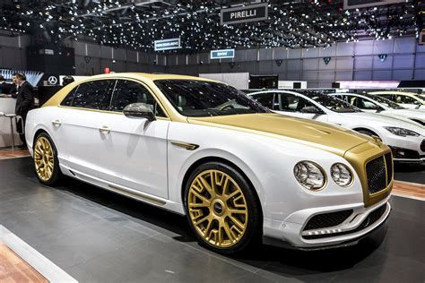 white gold bentley 232 ve 2016 mansory bentley flying spur