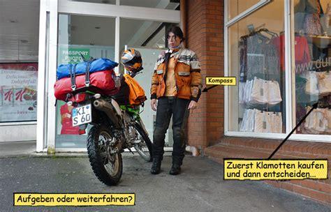 Motorrad Fahren Bei Regen by Endurowandern Mit Zelt Und Schlafsack