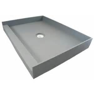 fin pan preformed 36 in x 42 in single threshold shower