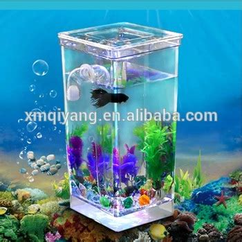 My Fish Tv New Products Goldfish Mini Tank Filter Aquarium Mini plastic my fish self cleaning tank beta aquarium bowl buy fish cleaning tank beta aquarium