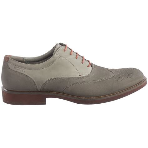 oxford wingtip shoes ecco biarritz wingtip oxford shoes for save 51