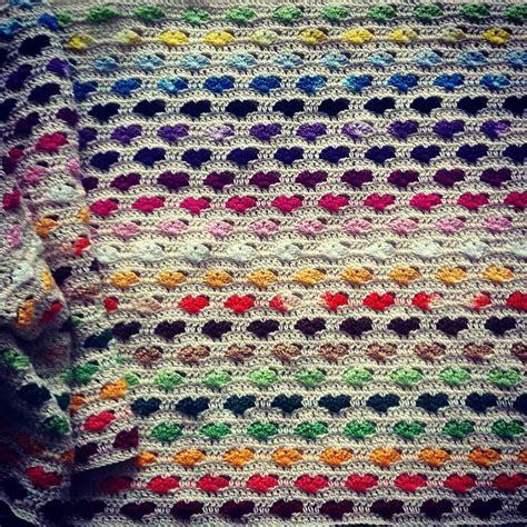 heart pattern crochet blanket interview with crochet blanket artist sanita brensone