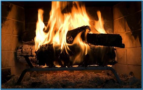 hd fireplace screensaver free