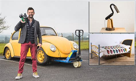 upcycler max mcmurdo turns battered vw beetle