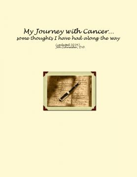 the in my journey with cancer books my journey with cancer some thoughts i had along