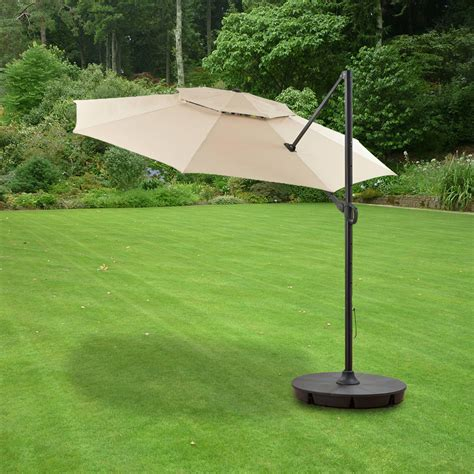 replacement canopy  bhg  tiered umbrella garden winds