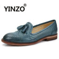 With Shoes Yinzo Brand 2017 Bullock Hollow Out Oxford Shoes For